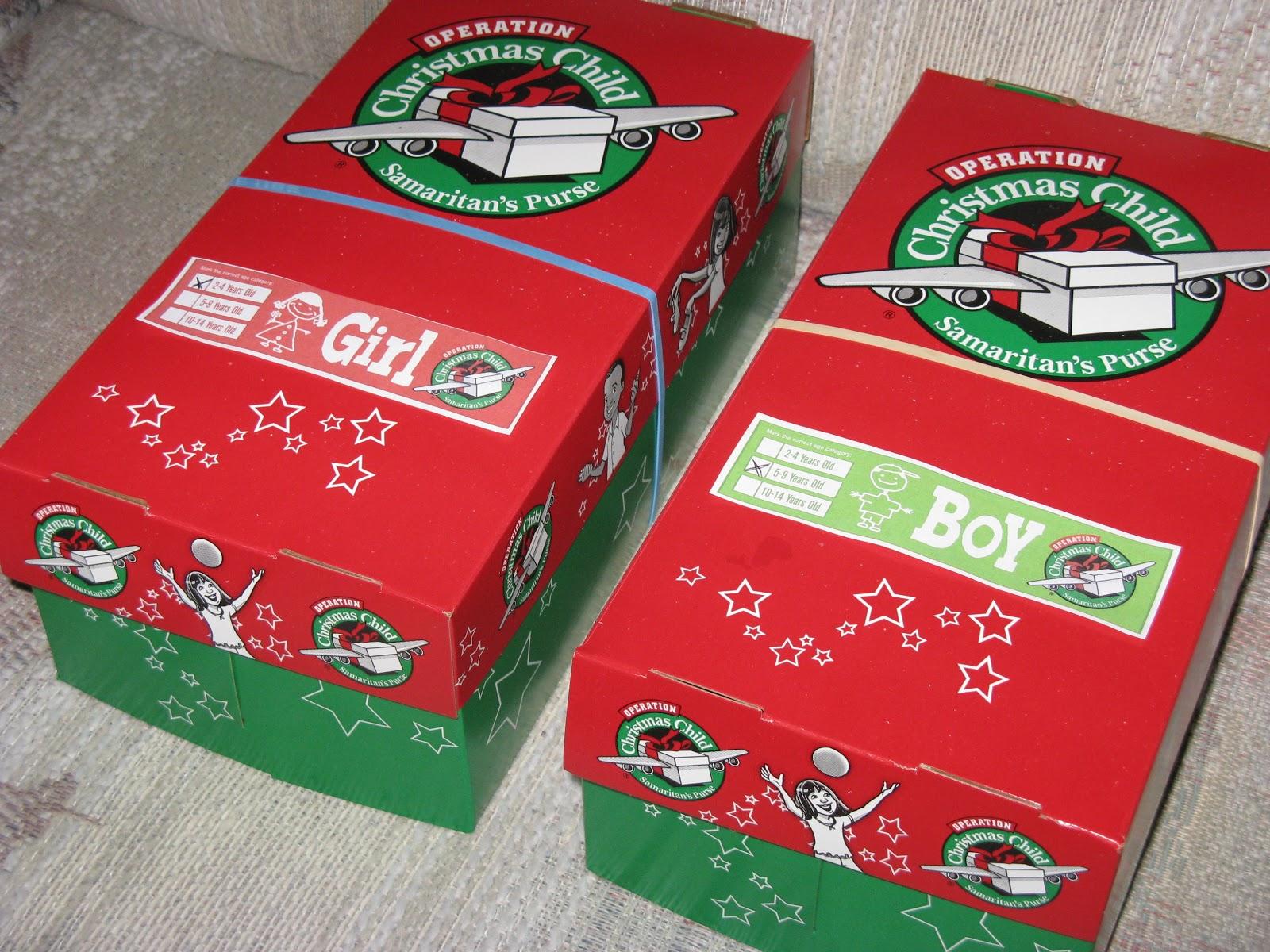 Operation Christmas Child 2015 - Trade Distribution Ltd